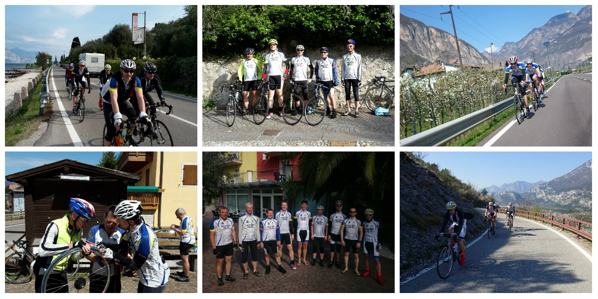 Trainingslager Collage